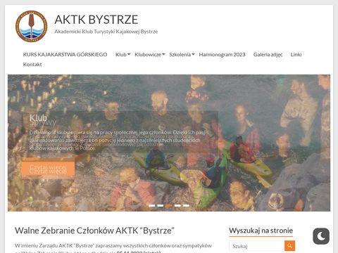 Bystrze - Akademicki Klub Turystyki Kajakowej