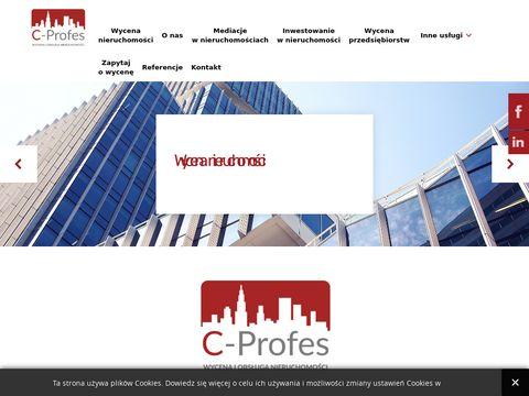 C-Profes Poznań Wycena Nieruchomości www.c-profes.nieruchomosci.pl