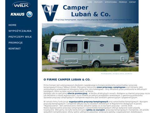 CAMPER LUBA艃 - samochody i przyczepy campingowe, wypo偶yczalnia, sprzeda偶