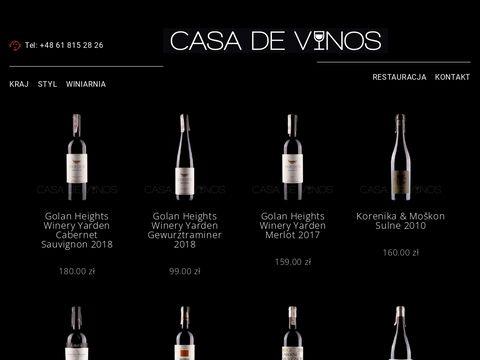 Internetowy sklep z winami