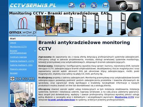 Monitoring CCTV - Telewizja przemysłowa