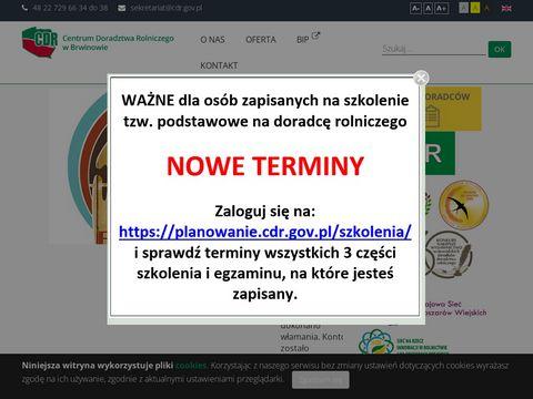 Krajowe Centrum Doradztwa Rozwoju Rolnictwa i Obszarów Wiejskich