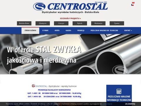 Centrostal Bielsko-Bia艂a, wyroby hutnicze