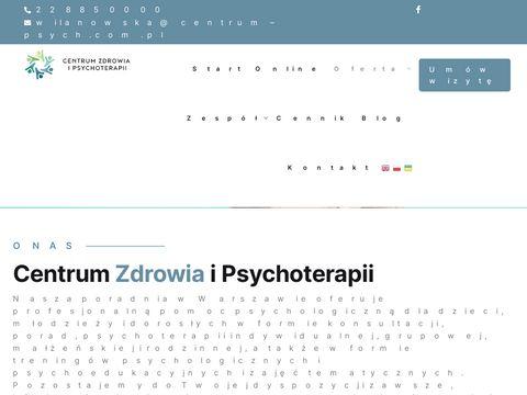 Centrum zdrowia psychicznego centrum-psych.pl