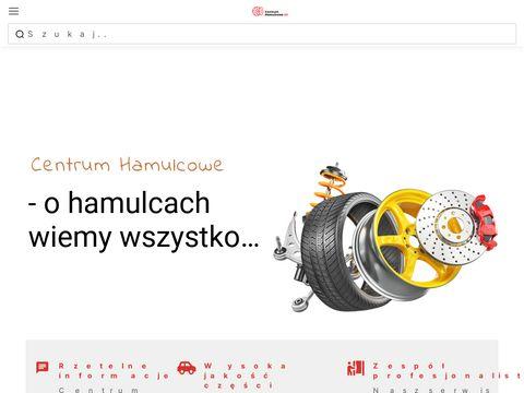 Blog opisujący układ hamulcowy - CentrumHamulcowe24.pl