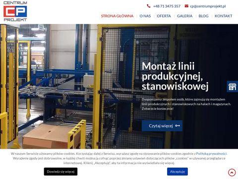 CENTRUM PROJEKT Maszyny pakujące Wrocław