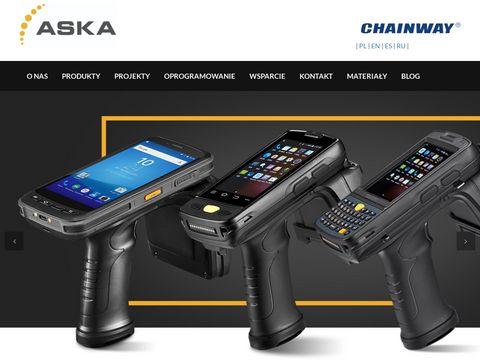 Kolektory danych Chainway  RFID