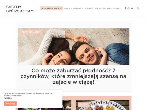 Www.chcemybycrodzicami.pl