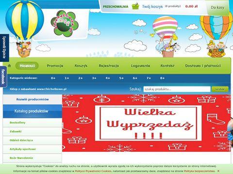 Sklep z zabawkami Chichotkowo.pl