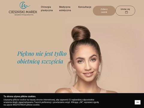 Operacje plastyczne nosa, piersi oraz 艂ydek 鈥� Chirurgia Plastyczna Krak贸w.