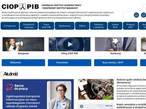 Centralny Instytut Ochrony Pracy w Warszawie