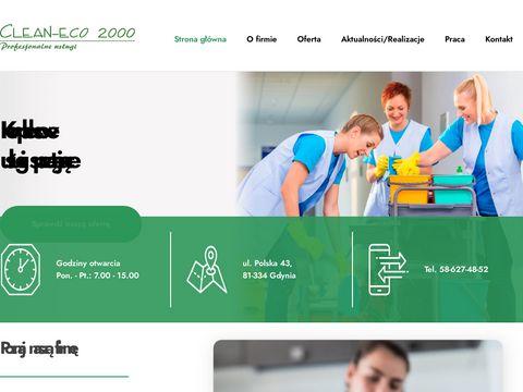 Clean-eco 2000. Profesjonalne sprzątanie