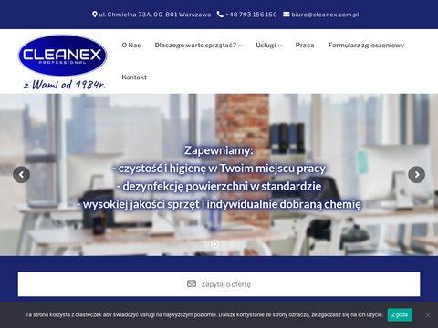 Pranie SprzÄ…tanie CLEANEX - sprzÄ…tanie biur, prani