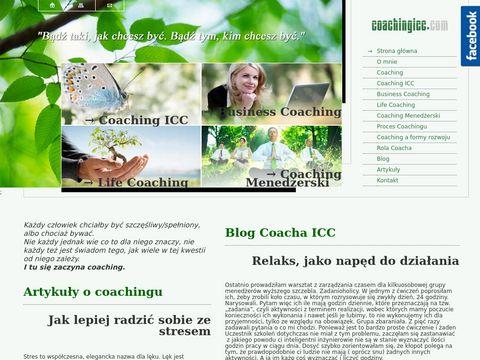 Coaching, Coaching ICC, Life Coaching, Bussines Coaching, Coaching menedżerski