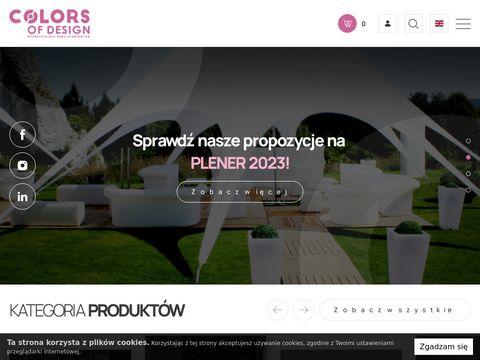 Wypo偶yczalnia mebli oraz aran偶acja przestrzeni od firmy Colors of Design.
