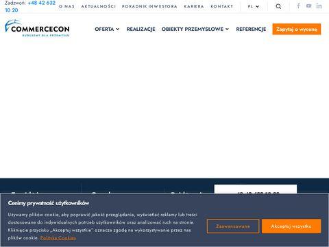 Commercecon - hale i konstrukcje stalowe