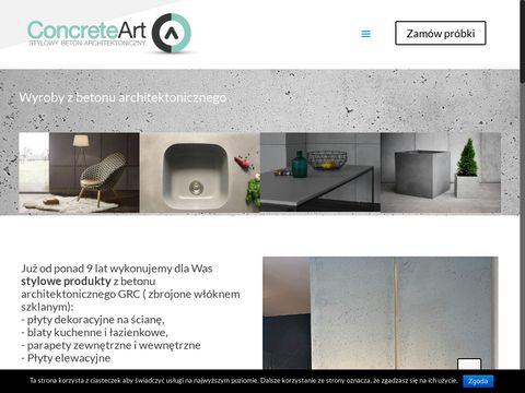 Beton GRC Concrete Art