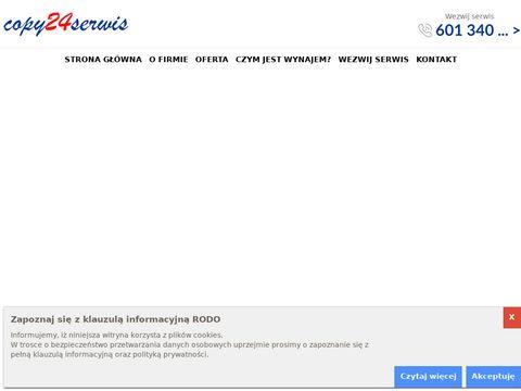 Copy24serwis.pl serwis drukarek laserowych Warszawa