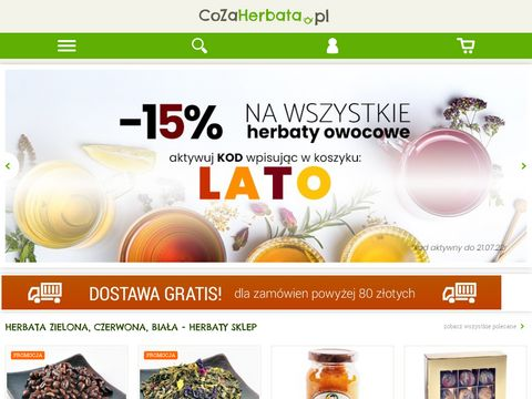 Sklep cozherbata.pl 鈥� wysokogatunkowa herbata online