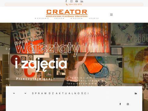 :: Creator.NET.pl :: Szkolenia, kursy, treningi ... :: - O nas