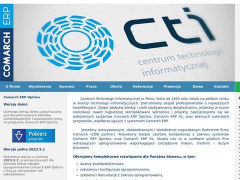 Centrum Technologii Informatycznej - oprogramowanie dla firm