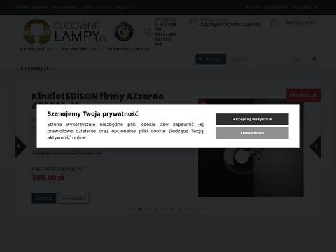 Lampy wiszÄ…ce oraz sufitowe - CudowneLampy.pl