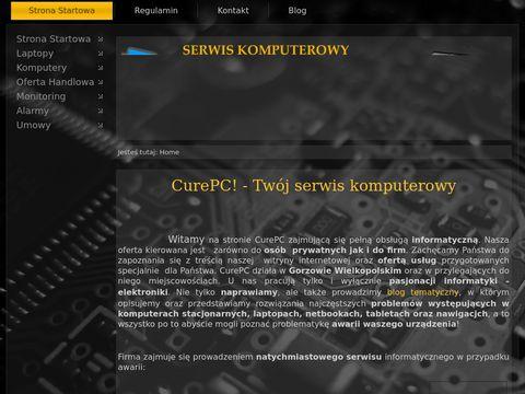 Pogotowie komputerowe CurePC Gorz贸w Wielkopolski
