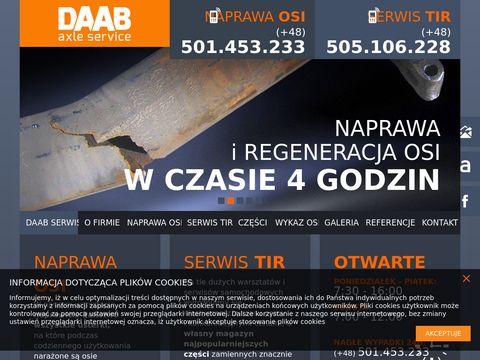 Osie bpw tylko z daab.com.pl