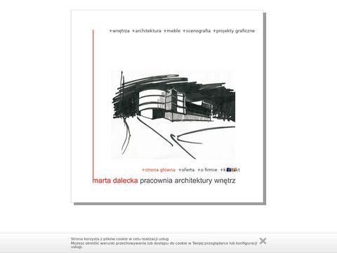 Marta Dalecka Pracownia Architektury WnÄ™trz - Warszawa - projektowanie wnÄ™trz