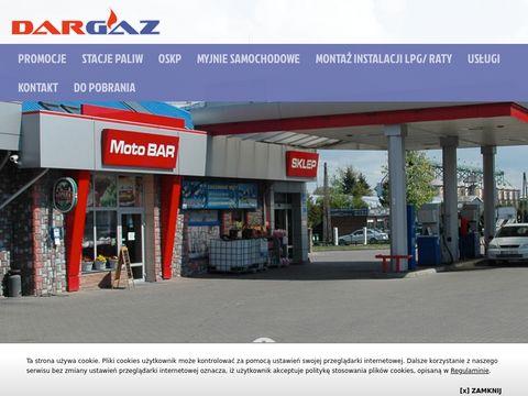 DARGAZ kontrola pojazdów Sokołów Podlaski
