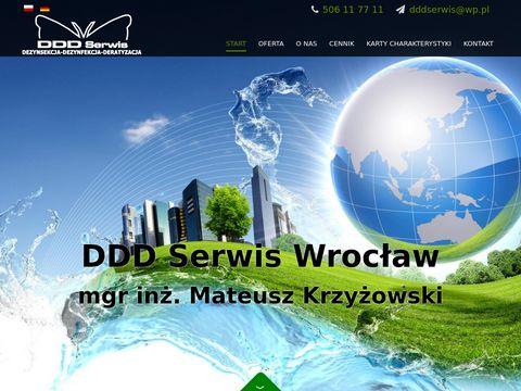 Dezynfekcja dezynsekcja deratyzacja Wrocław