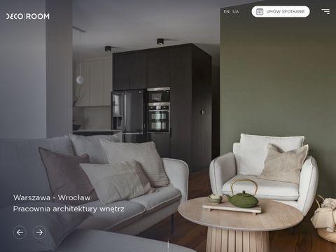Decoroom – Projektowanie wnętrz Warszawa