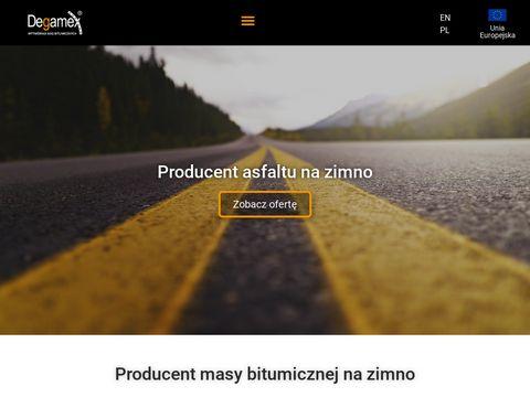 Www.degamex.pl masa na zimno