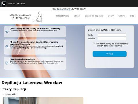 Depilacja laserowa - Salon kosmetyczny Wrocław