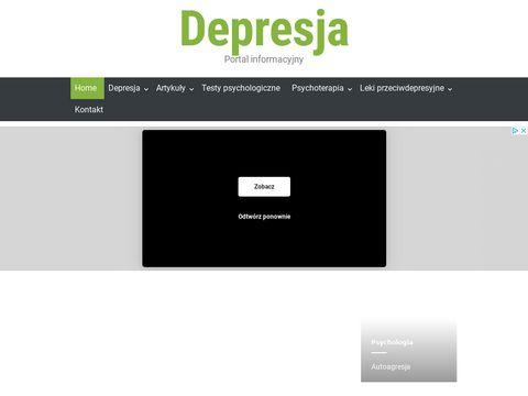 Depresja - serwis informacyjny