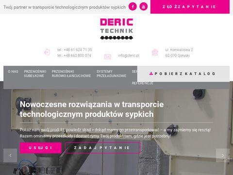 DERIC TECHNIK - Przenośniki kubełkowe WIESE