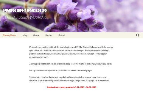 Lekarz dermatolog - Derma-Gab.pl