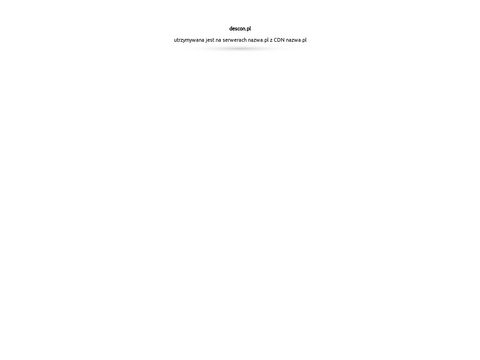DESCON no艣no艣膰 budynk贸w Warszawa
