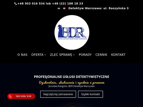 BDR - Biuro Detektywistyczne Rangotis