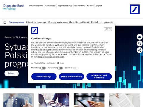 Ubezpieczenia na 偶ycie, komunikacyjne i inne - Deutsche Bank Polska