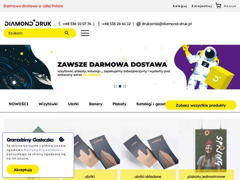Drukarnia dla Twojej firmy – Diamond-Druk.pl