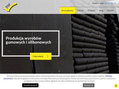 DIF producent uszczelek