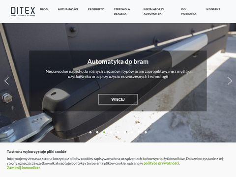 Ditex - bezpo艣redni dystrybutor szlaban贸w i bram
