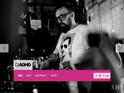DJ ADHD Official Site