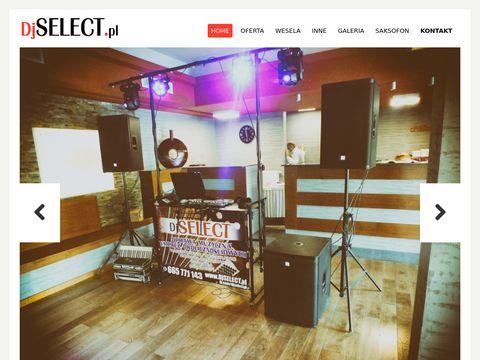DJ SELECT z akordeonem na wesele - Kraków, Wolbrom, Olkusz, Miechów