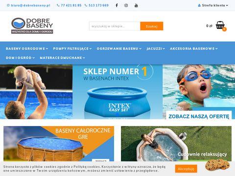 Dobrebaseny.pl - Baseny ogrodowe Intex