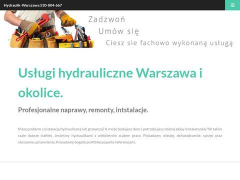 Hydraulik Warszawa, hydraulika Warszawa