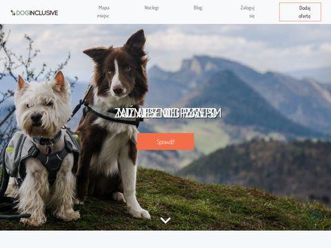 Domki z psem - doginclusive.com