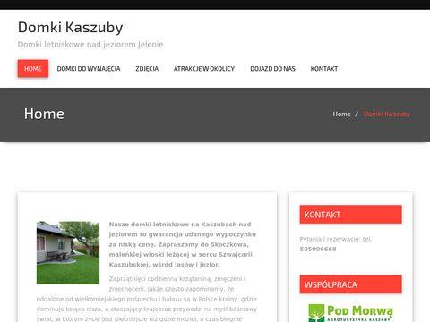 Kaszuby domki blisko jezioro - domki.kaszuby.pl