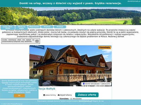 Domki koło �eby - Sarbsk